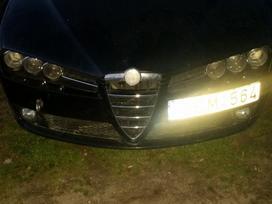 Alfa Romeo 159 dalimis. Odinis salonas xenon