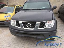 Nissan Navara. Nissan navara 2008 metų