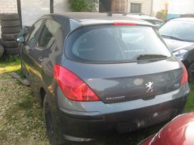 Peugeot 308 dalimis. Rida 19000km airbag nera