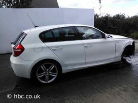 BMW 118. Bmw 118 d 2007m , variklis n47d20a, lieti ratai r18, m