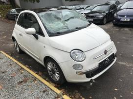 Fiat 500. Naudotos automobilių dalys
