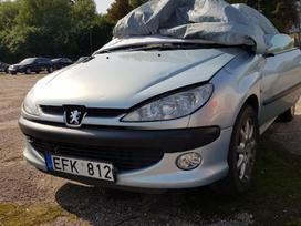 Peugeot 206 по частям. Stogas veikia  priekio dalys sveikos
