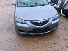 Mazda 3. Automobilis dar neisardytas! taikome