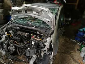 Renault Modus. Dėžė robotas 1.2 16v variklio