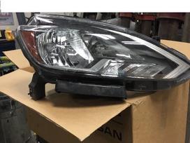 Nissan Sentra. Nissan sentra led right