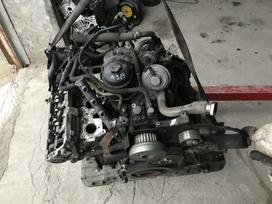Audi A6 variklio detalės