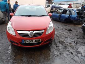 Opel Corsa. Automobilis parduodamas dalimis.
