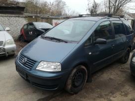 Volkswagen Sharan dalimis. Vw sharan 1,9 85kw