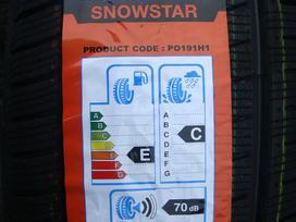 -Kita- Naujos Powertrac Snowstar, Žieminės