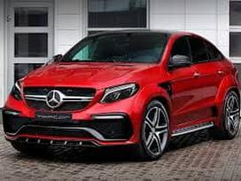 Mercedes-benz Gle Coupe klasė. ! naujos