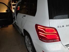 Mercedes-benz GLK klasė. Tik kas matosi