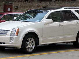 Cadillac Srx dalimis. Dalys visiems