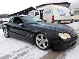 Mercedes-benz Sl500 dalimis. Transport detali