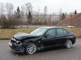 BMW 3 serija по частям. F30 318d 2015m. dalimis, platus naudotų