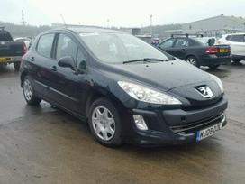 Peugeot 308. Motoras 1.6hdi 84kw ok, airbag