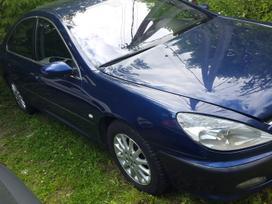 Peugeot 607 dalimis.  s.batoro g.