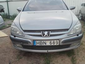 Peugeot 607. Pezo 607 03m.3.0rida