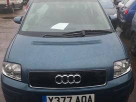 Audi A2 dalimis. Ka tik gautas automobilis