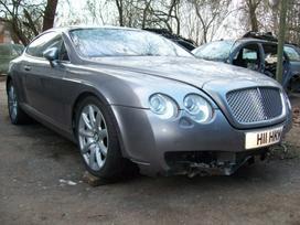 Bentley Continental dalimis. Bentley