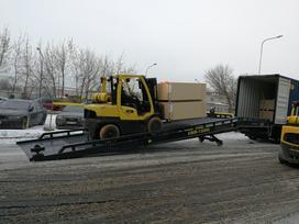 UGB Hidraulinė pakrovimo rampa, warehouse equipment