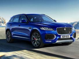 Jaguar F-pace dalimis. Naujos originalios