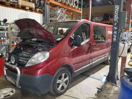 Opel Vivaro по частям. Ivairios dalys mikroautobusams, renault