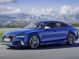 Audi Rs7. Naujos originalios automobilių