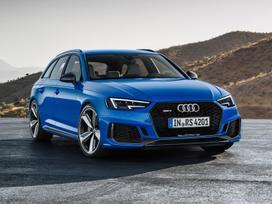 Audi Rs4. Naujos originalios automobilių