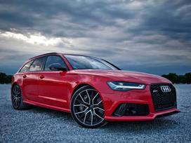 Audi Rs6. Naujos originalios automobilių