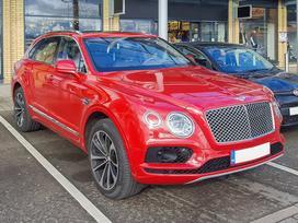 Bentley Bentayga. Naujos originalios