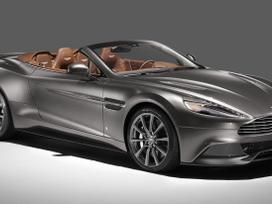 Aston Martin Vanquish. Naujos originalios