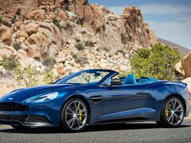Aston Martin Volante. Naujos originalios