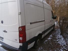 Volkswagen Crafter, cargo vans