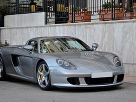 Porsche Carrera Gt dalimis. Naujos