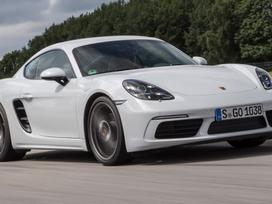 Porsche Cayman dalimis. Naujos originalios