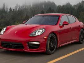 Porsche Panamera dalimis. Naujos originalios