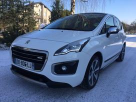 Peugeot 3008, 2.0 l., visureigis