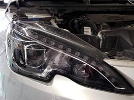 Peugeot 308. Europinis led zibintas