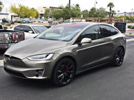 Tesla Model X dalimis. W  bene