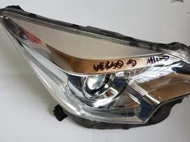 Toyota Verso-s. Originalios auto dalys is
