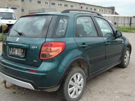 Suzuki Sx4. Europa 4 wd variklio kodas m16a