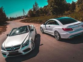 Mercedes-benz E500. Mercedes e coupe w207