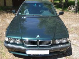BMW 730 dalimis. Bmw e38 730d 2000m. 142kw  spalva: oxfordgruen