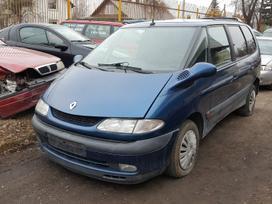 Renault Espace dalimis. Turime ir daugiau
