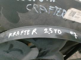 Volkswagen Crafter. Variklis ir jo dalys