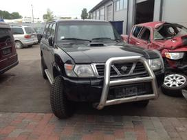 Nissan Patrol. Motor defekt