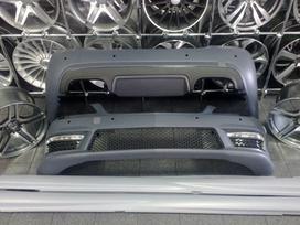Mercedes-benz S klasė. S class w221 amg body