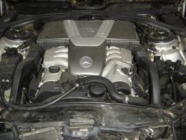 Mercedes-benz Cl klasė. MB w 215 coupe: 6. 0i