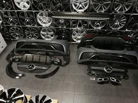 Mercedes-benz Gle Coupe klasė bamperių