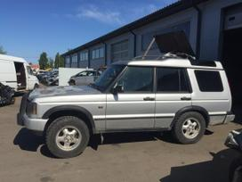 Land Rover Discovery dalimis. Land rover